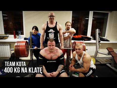 Team Kota - 400 kg na klatę - Benchpress party - KFD