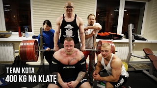 Team Kota - 400 kg na klatę - Benchpress party - KFD