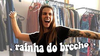 ROLÊ E COMPRAS EM BRECHÓ! | Mi Alves