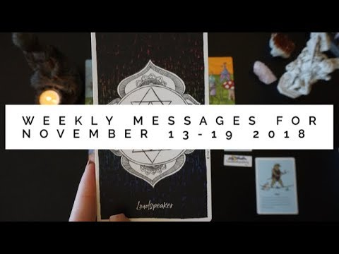 Weekly messages November 13-19