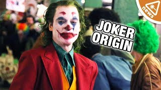 New Joker Origin Footage and Details Revealed! (Nerdist News w/ Jessica Chobot)