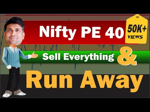 Nifty PE 40 | Sell everything & run away | stock market crash 2021 | momentum investing strategy