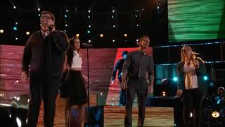 Jordan Smith and Team Adam - Wouldn't It Be Nice - The Voice.