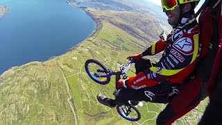 Skydive over Queenstown with a kid's bike