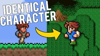 ONE LEGGED PLAYER EXPLAINED - Terraria Banned Leaked Beta Version - PC Gameplay