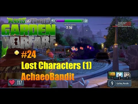 Plants Vs Zombies : Garden Warfare - #24 - Lost Character (1) - Archaeobandit !!