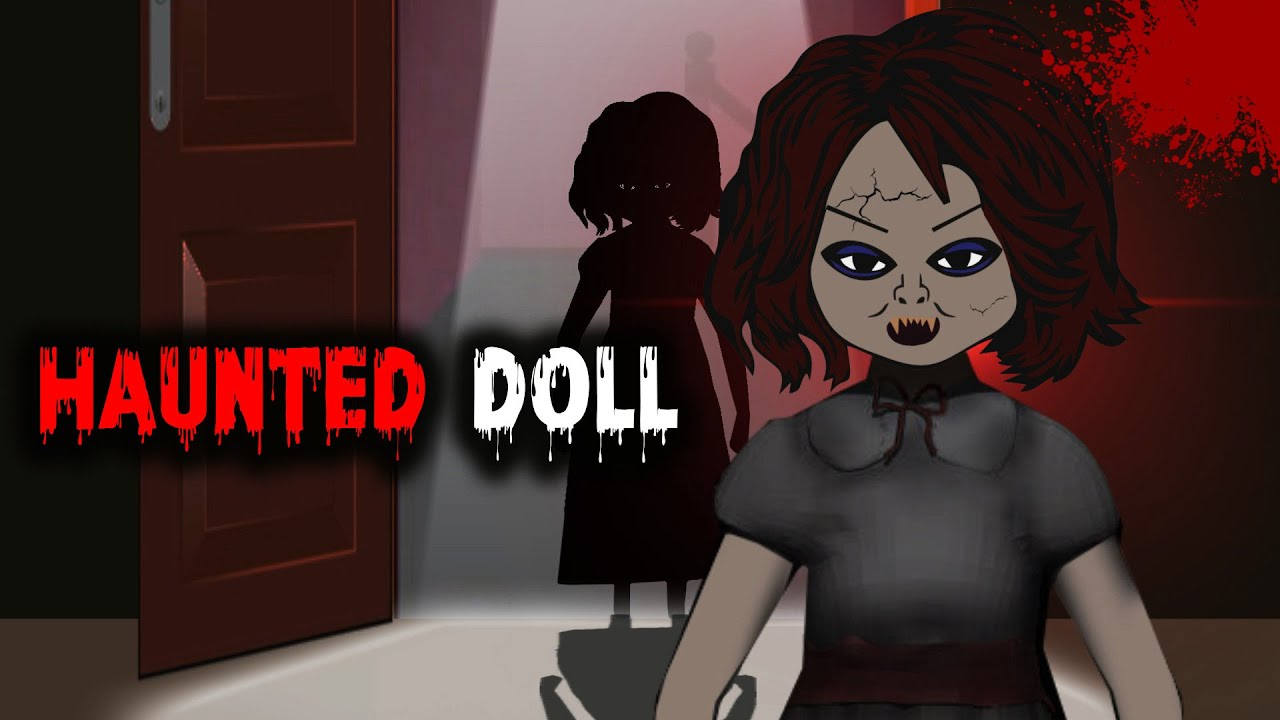 Bhutiya Gudiya Horror Story in Hindi Animation | Antique Doll | Horror Stories | A Thriller Tale