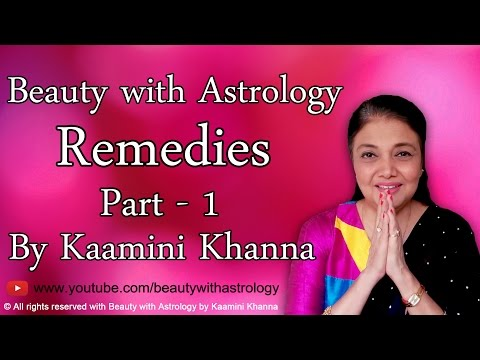 Beauty with Astrology Remedies - Part 1 by Kaamini Khanna