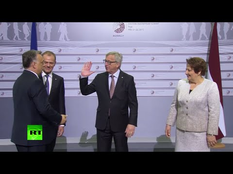 'The dictator is coming': Juncker trolls Hungarian PM Orban