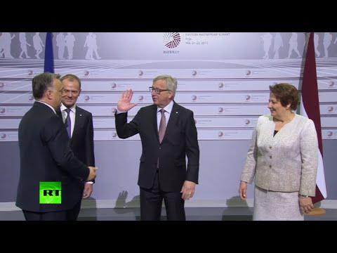'The dictator is coming': Juncker trolls Hungarian PM Orban