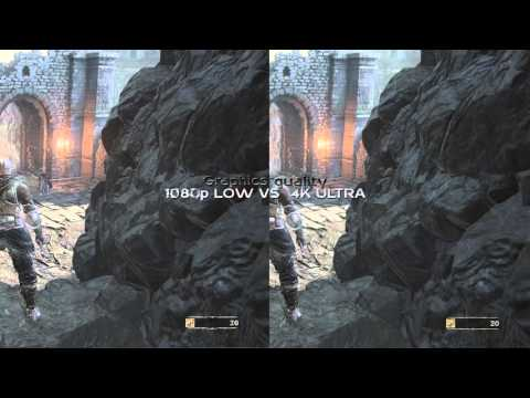 comparison between 1080p and 4k ultra
