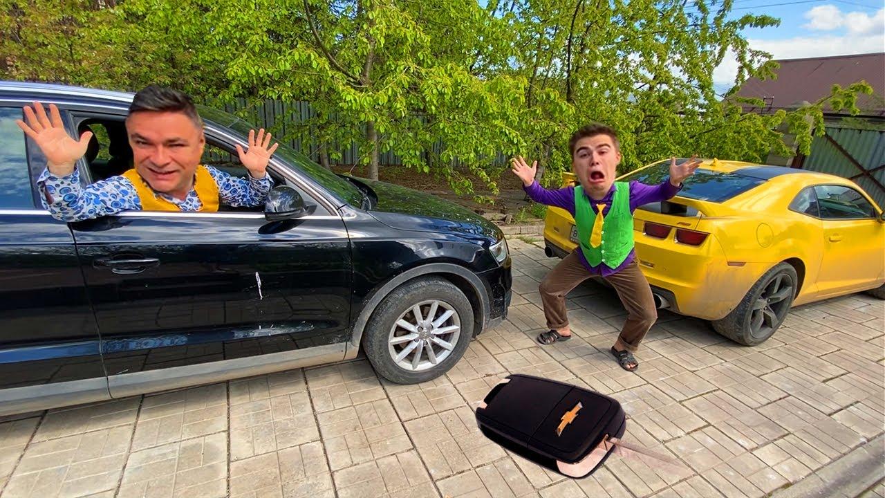 Thief Older Mr. Joe STOLE Car Keys VS Mr. Joe on Audi Q3 13+