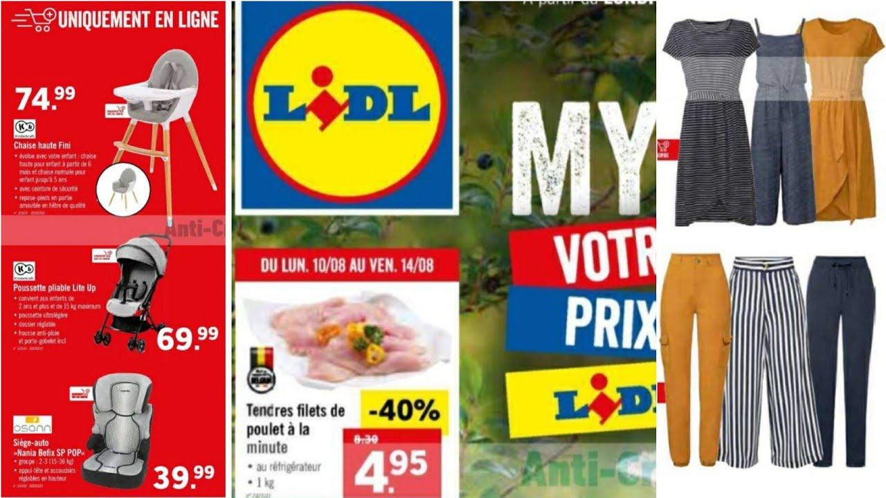 Download Lidl france solde du -10 AU 14 Aout 2020- catalogue nouvel arrivage