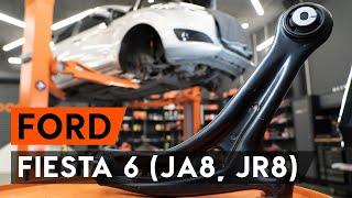 Montering Bremseklosser bak og foran FORD FIESTA VI: gratis video