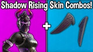"BEST ""DARK REFLECTIONS"" SKIN + BACKBLING COMBOS! (Fortnite best combinations for each new skin)"