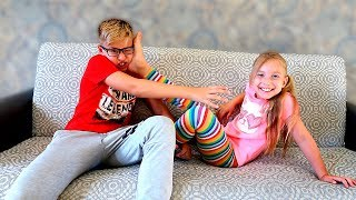 Катя и Ростя снова ПОСПОРИЛИ - НОВЫЙ скетч от Мы семья - Сестра vs Брат