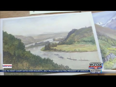 Hitler paintings up for auction