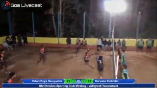 Volleyball Tournament | Shri Krishna Sporting Club Mirabag | Day 1