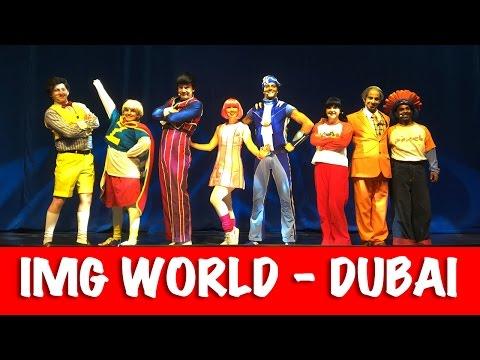 IMG WORLDS OF ADVENTURE DUBAI | World's Largest Indoor Theme Park