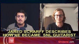 Saturday Night Live Band Guitarist Jared Scharff talks music, life and hockey