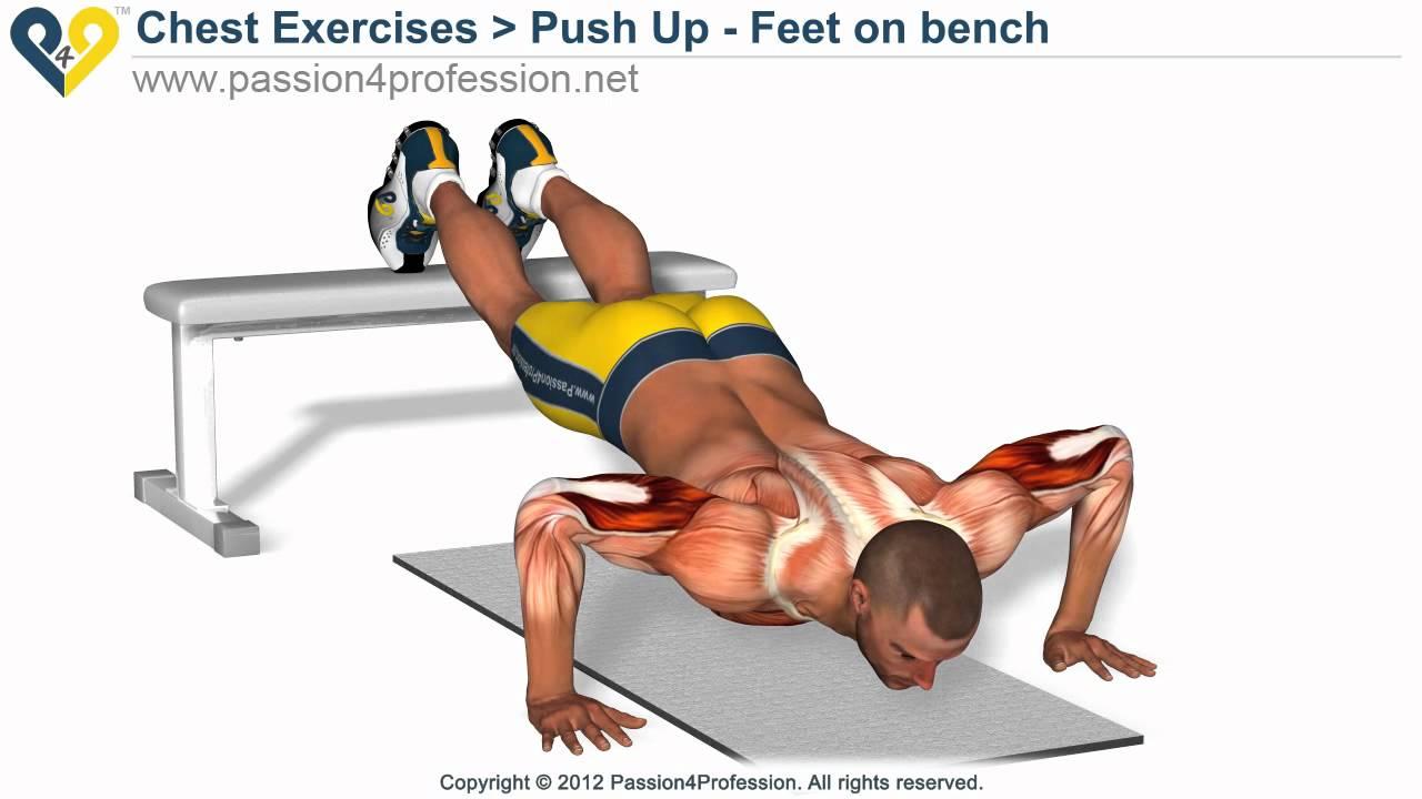 bench pushup