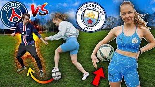 LIGA MISTRZÓW 🔥 PÓŁFINAŁ PSG vs Manchester City 💯 JUSTEK vs WIKA