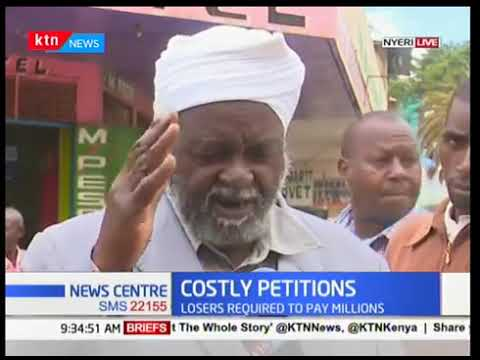 Nyeri residents speak out on Court's alleged ploy to discourage petitions through hefty fees