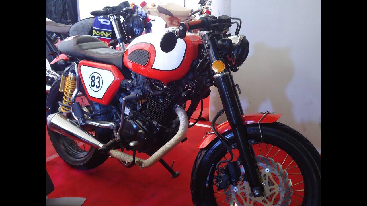 Koleksi Ide Modifikasi Motor Tiger Cafe Racer Terupdate Velgy Motor