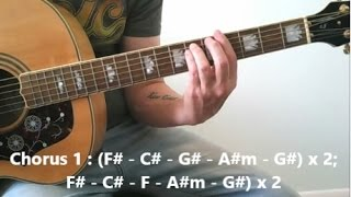 'Umbrella' Marie Digby - Acoustic Guitar Cover (W/Chords)