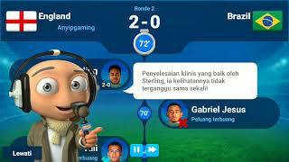 OSM (online soccer manager) : Inggris aing menang lawan Brazil!