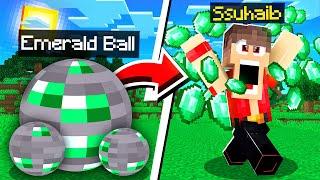 ماين كرافت كورة الايميرلد المميزة!😱 (اميرالد لا نهائي!)🔥 - Emerald Ball