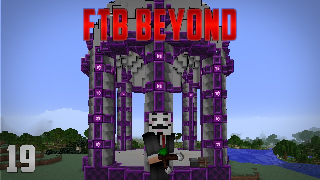 High Quality FTB Beyond EP19 Botania   Mystical Flower Automation   Living Rock + Living  Wood Automation