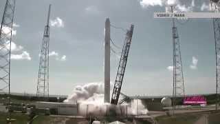Взрыв ракеты Falcon: видео NASA