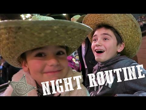 VLOG - NIGHT ROUTINE de COWBOYS à Disneyland Paris