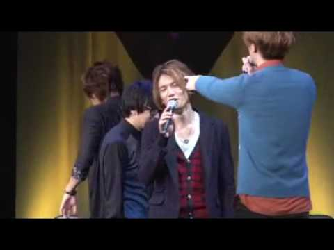 Mushibugyo Seiyuu EventJun Fukuyama and Miyano Mamorus antics steal his birthday celebration!