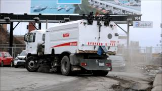 NISSAN STREET CLEANER IN ACTION