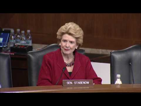 Senator Stabenow Discusses Great Lakes Cuts in President Trump's Budget