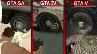 THE BIG GTA COMPARISON 3 | GTA SA vs. GTA IV vs. GTA V | PC | ULTRA