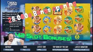 Big Bonus Collection Including 42 Slot Bonuses!!
