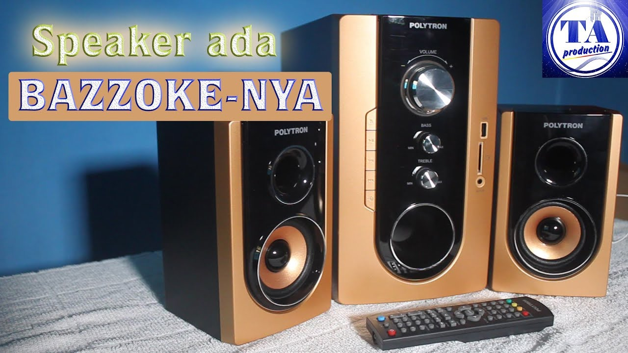 Speaker POLYTRON PMA 9300 [Review Indonesia]