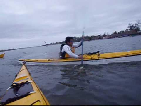 Curso de kayaks de Mar  impartido por el Doc.Rafael Mier.