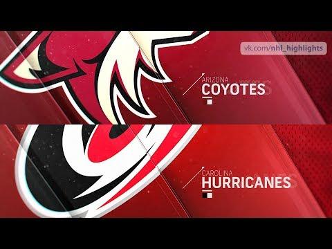 Arizona Coyotes vs Carolina Hurricanes Dec 16, 2018 HIGHLIGHTS HD