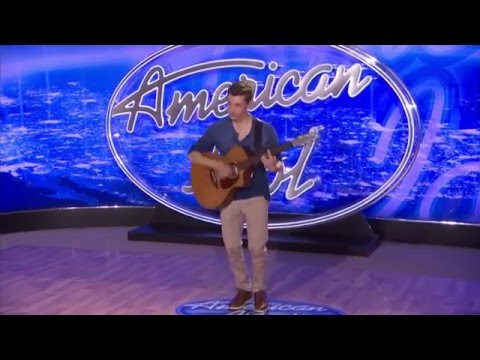 "Clarkstown North High School student Harrison Cohen performs an original song, ""No Time,"" during his audition for ""American Idol."" The show, taped in Philadelphia, aired on Fox Wednesday night."