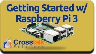 Getting Started with Raspberry Pi 3 thumbnail