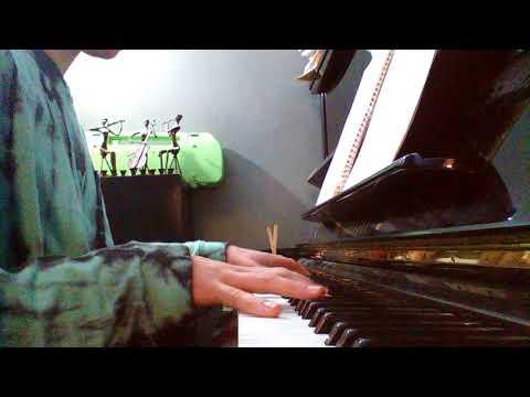 Pee-Wee's Big Adventure Breakfast Machine Song on Piano!