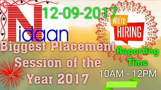 Video Jobs with NIDAAN India download MP3, 3GP, MP4, WEBM, AVI, FLV Desember 2017