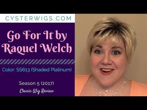 CysterWigs Wig Review: Go For It by Raquel Welch, Color: SS613 (Shaded Platinum)
