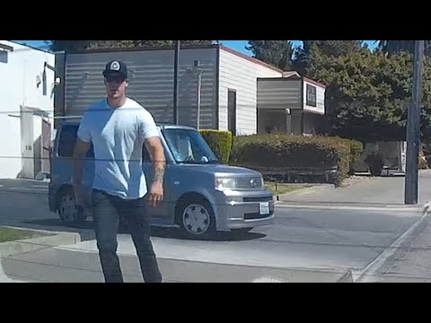 Angry Road Rage Guy Chases After Me - Wants To Fight - Napa, California