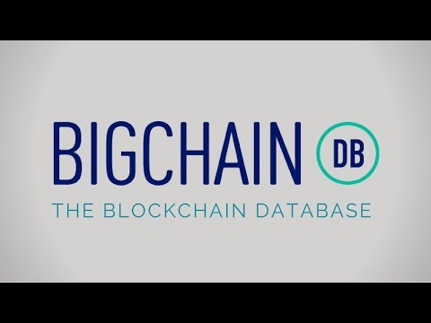 What is BigChainDB? | Scalable Decentralized BlockChain Database