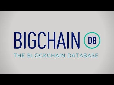 What is BigChainDB? | Scalable Decentralized BlockChain Database